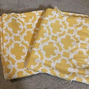 Target Threshold Yellow Curtains